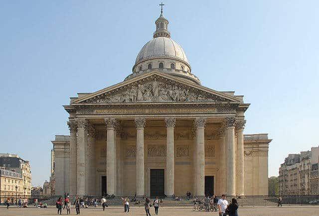 הפנתיאון - מקום קבורתו של ויקטור הוגו. מקור צילום ויקיפדיה.