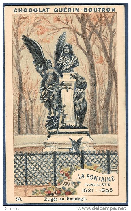 תמונת המיצב המוקדש ללה פונטן מתוך סדרת התמונות של יצרנית השוקולד גֵרַן-בּוּטְרוֹן, באדיבות אתר המכירות דֵלְקָמְפְּ