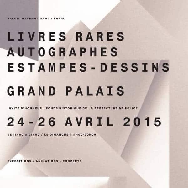 יריד ספרים עתיקים ובולים ב Grand Palais