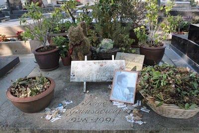 הקבר של סרז' גינסבורג