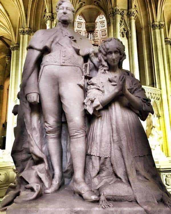 קברם של לואי פיליפ ואשתו אמליה