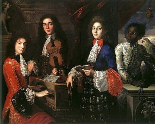 מוזיקת בארוק צרפתית שכאילו נכתבה תחת השפעת סמים. מקור ציור - וויקיפדיה.