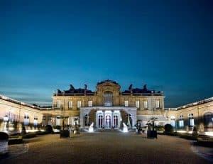 מוזיאון ז'אקמאר-אנדרה, מבט לילי מהחצר. מקור הצילום וויקיפדיה
