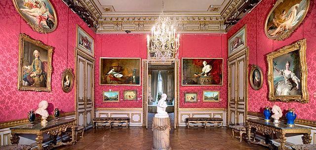 סלון הציירים במוזיאון ז'אקמר-אנדרה