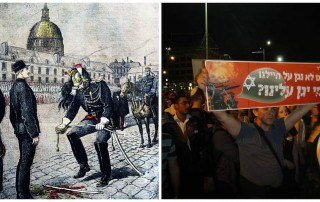 פרשת דרייפוס ופרשת אלאור עזריה. מקור צילום ויקיפדיה כאשר הצלם בתמונה מצד ימין הוא בן נחום