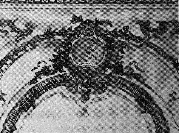 המונוגרמה של סמואל ברנאר הרוזן דה קובר.
