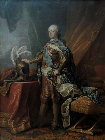 קארל וון לו, לואי ה-15. מקור צילום ויקיפדיה