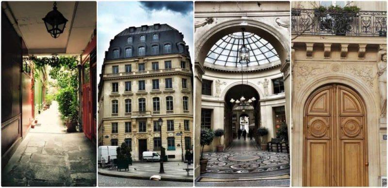 טיול פסאז'ים בפריז