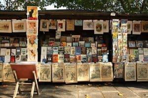 הבוקיניסטים של פריז - מקור צילום וויקיפדיה