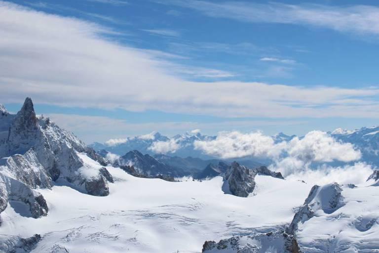 שאמוני (Chamonix) מון בלאן (Mont Blanc) מאת הדר גבאי