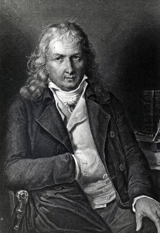 """ברנרדן דה סן-פייר, ציור מתוך מהדורה של """"פול ווירז'יני"""" משנת 1806"""