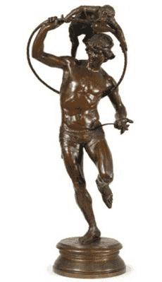 מטבע של קוף של פרנסואה-לוראן רולר (1842-1912). מקור צילום וויקיפדיה