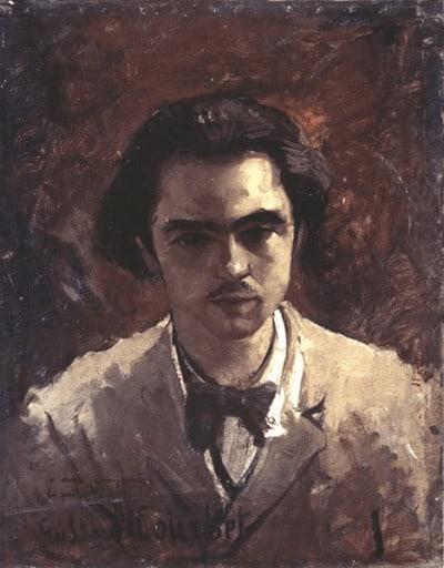 פול ורלן בצעירותו, ציור שמן של גוסטב קורבה. מקור צילום ויקיפדיה