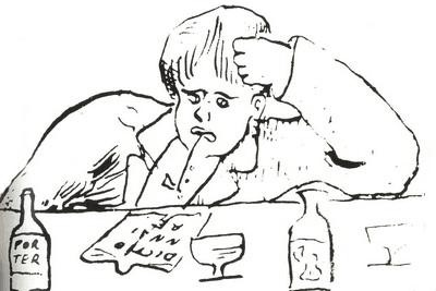 דיוקן של רמבו מאת ורלן. מקור צילום ויקיפדיה