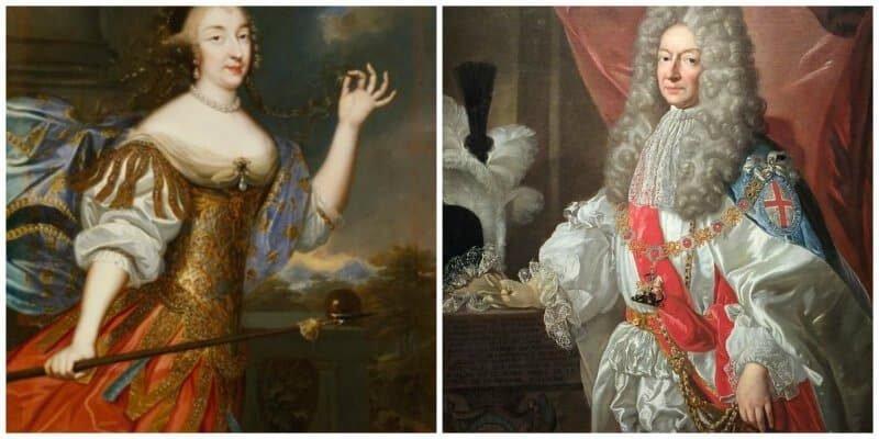 הדוכס דה לוזון והדוכסית מאורליאן. מקור צילום ויקיפדיה.