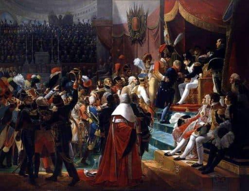 ז'אן ת'ורל מקבל את אות לגיון הכבוד מידי נפוליון. מקור תמונה ויקיפדיה