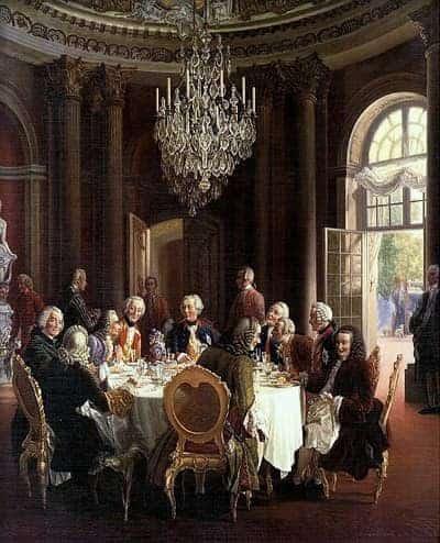 השולחן העגול מאת פון מנצל - מקור התמונה ויקיפדיה