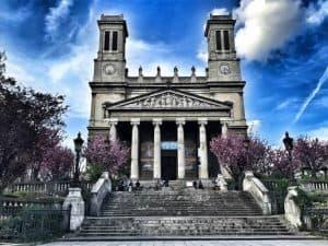 כנסיית סן וינסן דה פול. צילום: צבי חזנוב