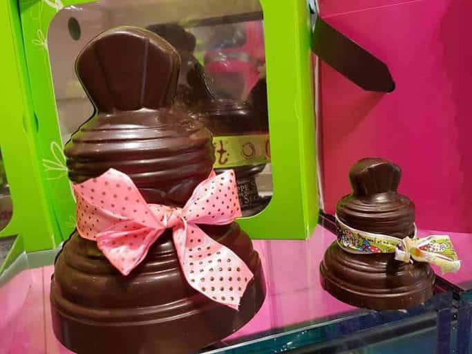 פעמוני שוקולד בפרובאנס