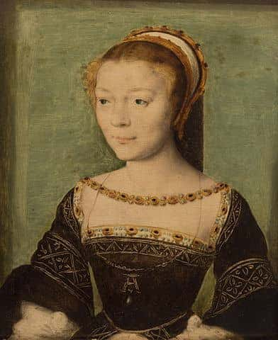 אן דה פיסלה ציור שמן על עץ מהשנים 1535-1540. מקור ציור ויקיפדיה.