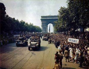 שחרור פריז 1944. מקור צילום: ויקיפדיה.