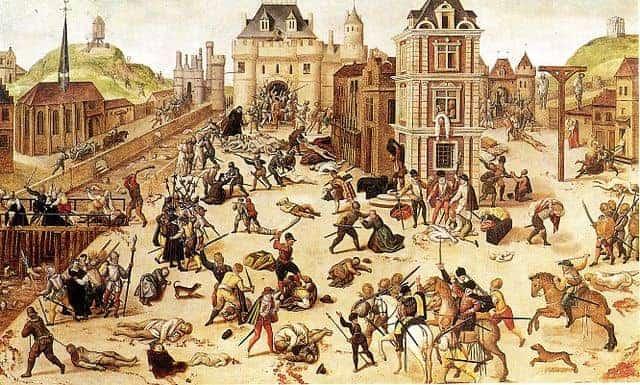 טבח ברתולומיאו הקדוש בפריז - מקור תמונה ויקיפדיה