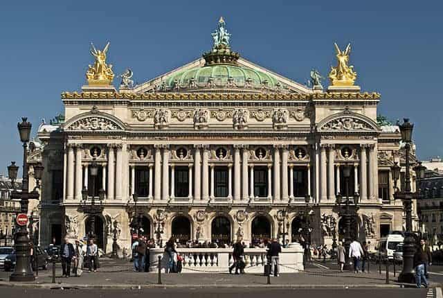 בניין האופרה של פריז שעיצב שארל גארנייה - מקור צילום: ויקיפדיה.