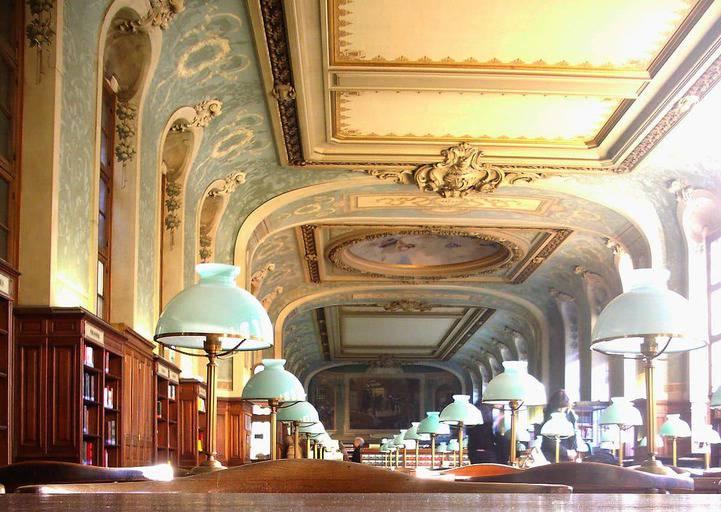 הסיפרייה של הסורבון. מקור תמונה: ויקיפדיה