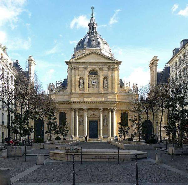הכנסייה של הסורבון בה קבור רישלייה. מקור צילום: ויקיפדיה.
