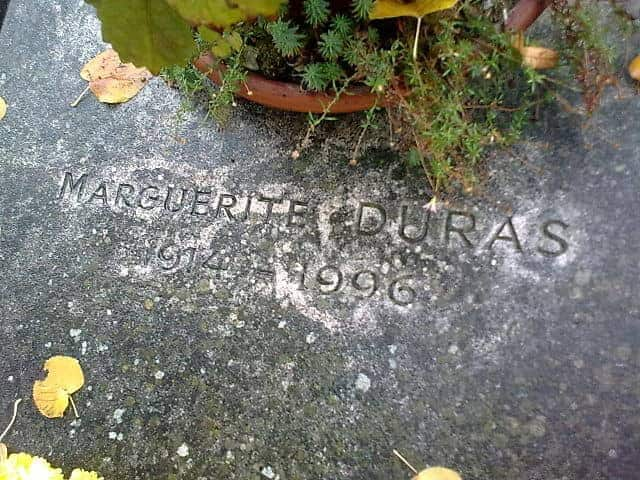 קברה של מרגריט דוראס - מקור צילום Wikipedia