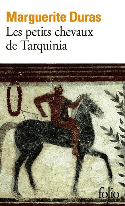 עטיפת הספר הסוסים הקטנים של טרקיניה מאת מרגריט דיראס.