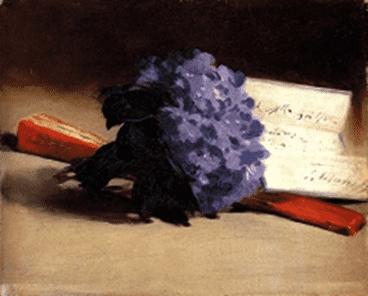 אדואר מאנה, זר סיגליות, 1872, אוסף פרטי