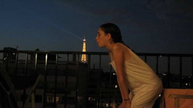 נשיקת לילה טוב למגדל אייפל