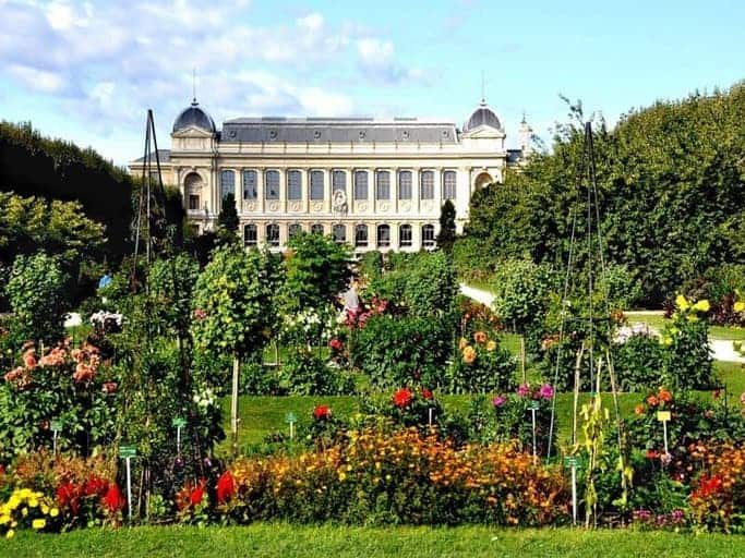פארק הצמחים (Jardin des Plantes) ברובע ה-5 בפריס
