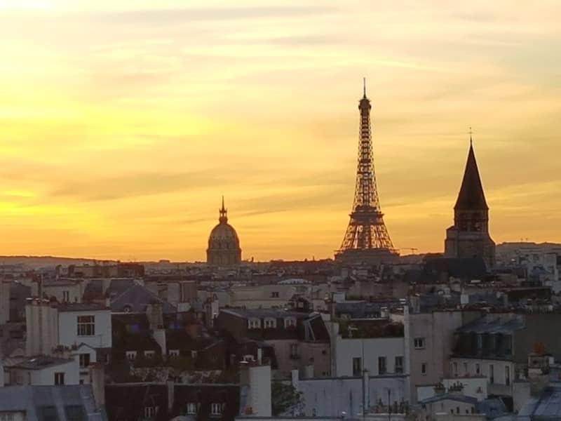 הארכיטקטורה של פריז