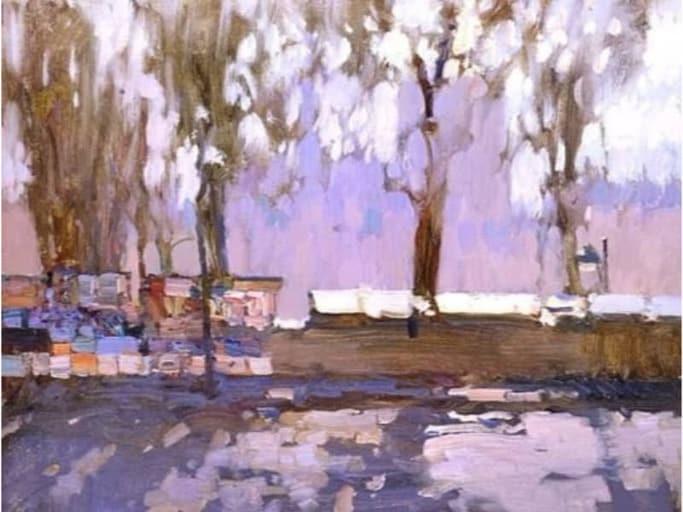ההשראה ציור של צייר רוסי Bato Dugarzhapov