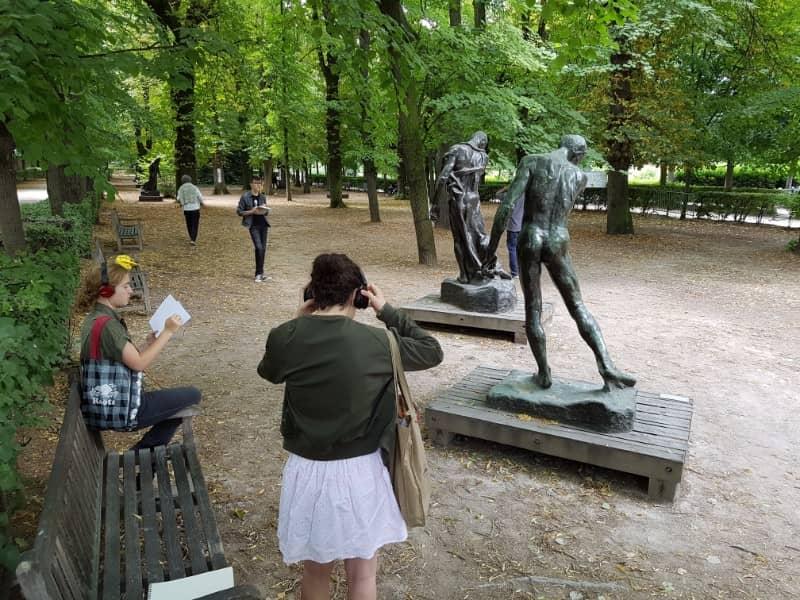 המוזיאונים גן הפסלים של רודן