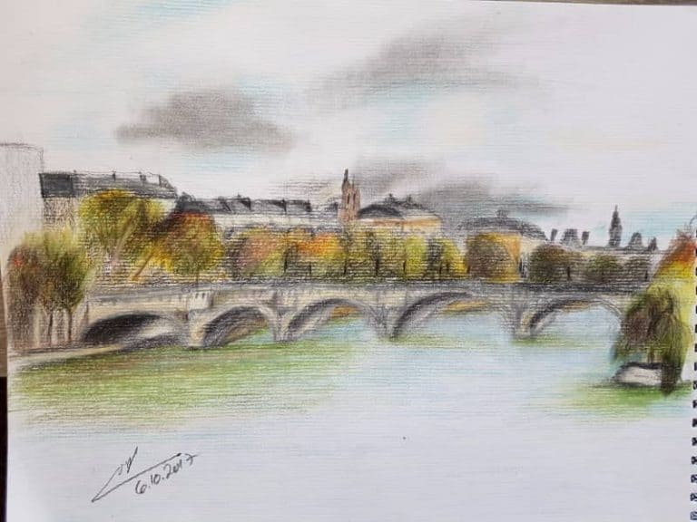 12 סיבות (לפחות) למה לעשות סדנת ציור בפריז – מאת עינת קרמן מאור