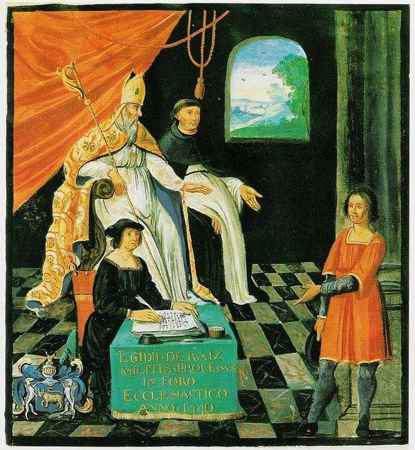 """משפטו של ז'יל דה רה """"כחול הזקן"""" - מקור תמונה ויקיפדיה"""