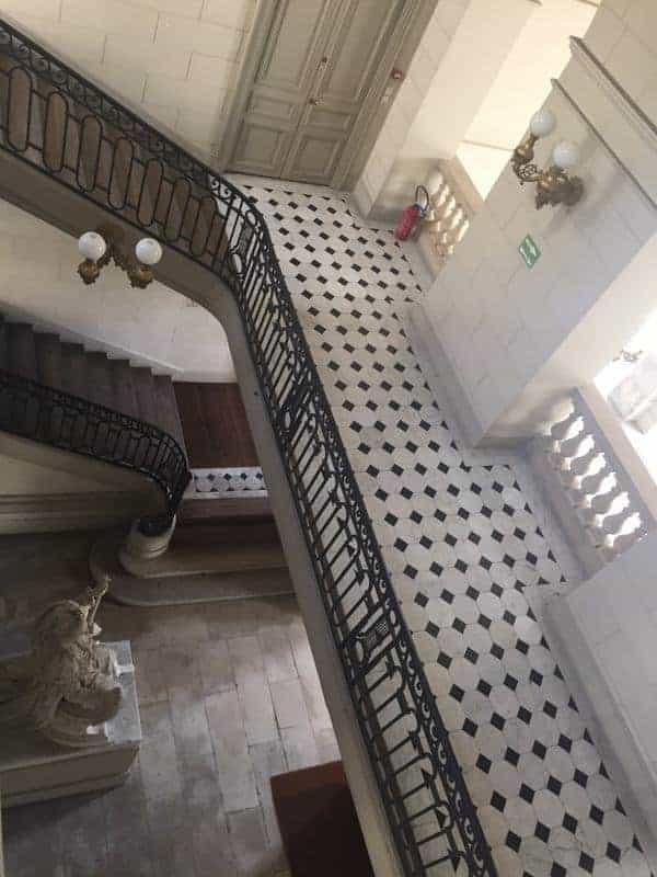 המדרגות לאסמבלה נסיונל (האסיפה הלאומית)