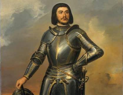 """ז'יל דה רה הידוע בכינויו """"כחול הזקן"""". מקור תמונה ויקיפדיה."""