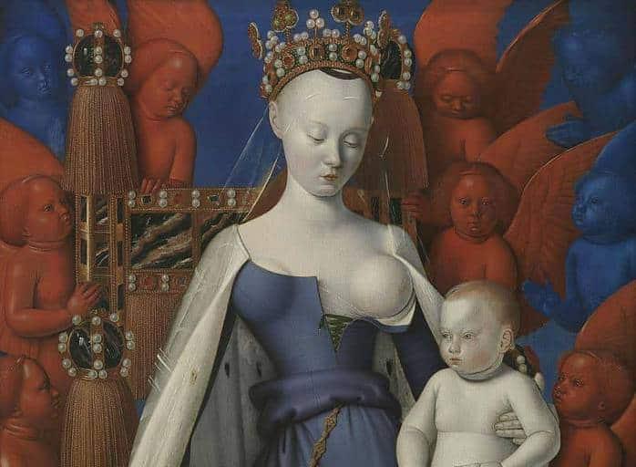 הדיוקן של אנייס סורל. מקור תמונה ויקיפדיה.
