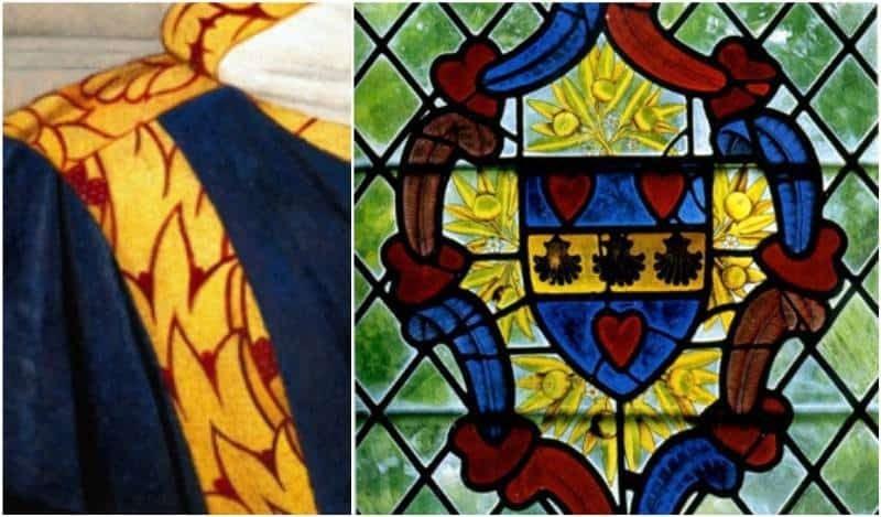 סמל האצולה של ז'אק קר הקישוט של סטפן הקדוש