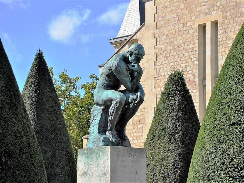 האיש החושב במוזיאון רודאן
