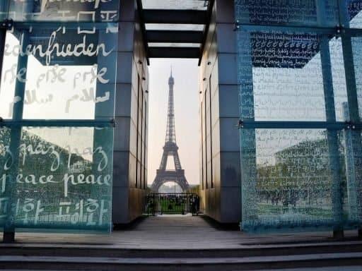 אטרקציות בפריז - קיר השלום. צילום: יואל תמנליס