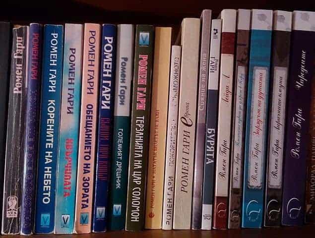 ספריו של רומאן גארי