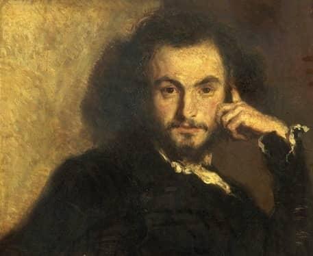 שארל בודלר. דיוקן משנת 1844. מקור תמונה: ויקיפדיה.