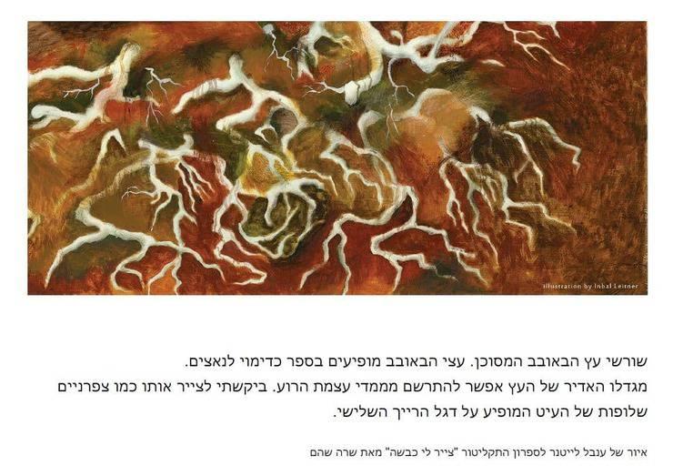 'שורשים' איור של ענבל לייטנר