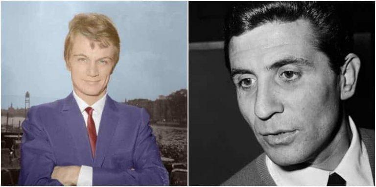 """ז'ילבר בקו וקלוד פרנסואה. שניהם יצרו שירים שהפכו למפורסמים בארה""""ב. מקור תמונה ויקיפדיה."""