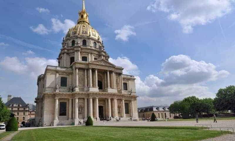 הכנסייה של ארמון האינוולידים. צילום: MUSEMENT